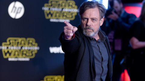 """Mark Hamill -- yes, Luke Skywalker himself -- reprises his famous role in """"The Force Awakens,"""" although he's been mysteriously missing from trailers promoting the movie."""