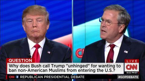 jeb bush donald trump cnn gop debate chaos candidate muslims isis 12_00000210.jpg