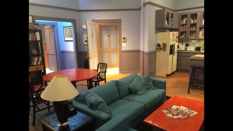 """A re-creation of Jerry Seinfeld's TV apartment is on display at the """"Seinfeld"""" fan experience in West Hollywood through Sunday."""
