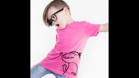 """Pink can go with dinosaurs, as this T-shirt by <a href=""""http://www.quirkiekids.com/"""" target=""""_blank"""" target=""""_blank"""">Quirkie Kids</a> demonstrates."""