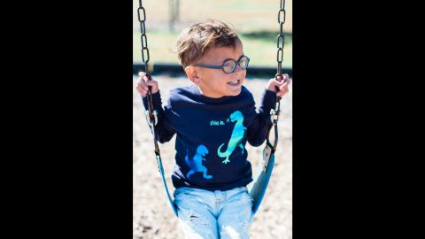 """At <a href=""""http://www.jessyandjack.com/"""" target=""""_blank"""" target=""""_blank"""">Jessy & Jack</a>, shirts include colors beyond the grey, black and brown often associated with boys' clothing."""