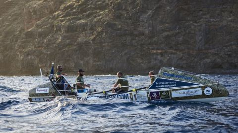 They will race 28 able-bodied crews to row across the Atlantic ocean in 40-60 days.