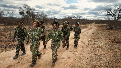 """Photographer <a href=""""http://juliagunther.com/"""" target=""""_blank"""" target=""""_blank"""">Julia Gunther </a>captured the lives of one of the fiercest anti-poaching groups in South Africa: the <a href=""""http://www.blackmambas.org/"""" target=""""_blank"""" target=""""_blank"""">Black Mambas</a>."""