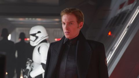 """<strong>General Hux</strong> (Domhnall Gleeson), a young but high-achieving officer in the First Order, the successor to the Empire. Gleeson, the son of actor Brendan, is prolific: in the past few years, he's had hits with """"Harry Potter,"""" """"About Time,"""" """"Brooklyn"""" and """"The Revenant."""""""