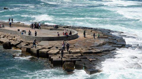 The 15th-century Qaietbay Citadel in the port city of Alexandria.