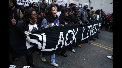Demands for change led to organized protests in major cities, including New York, Washington, Boston, San Francisco and Oakland, California, in December 2014.