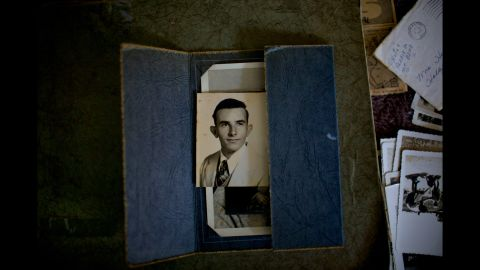 Frampton was 18 when this photo was taken in 1951.