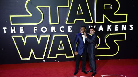 """With """"Star Wars: The Force Awakens"""" breaking many box office records in the movie theater, there's a good chance that John Boyega, left, and Oscar Isaac and will become household names. How they will fare based on the success of """"Star Wars"""" (and possible more in the series), we'll find out."""