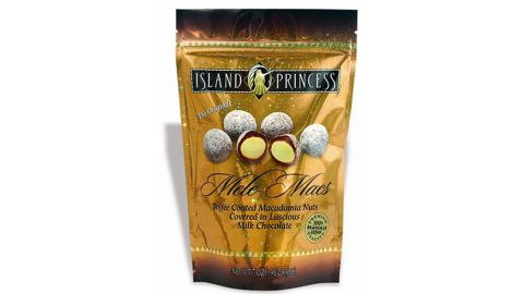 Hawaiian, which tied with Spirit for seventh, offers a cornucopia of snack choices. But they are all high in calories. The worst offender is the Island Princess Mele Macs, which are candied macadamia nuts that contain a staggering 1,120 calories.