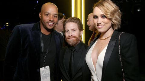 """Seth Green, center, best known for his roles in the """"Austin Powers"""" series and """"Family Guy,"""" is worth about $25 million."""