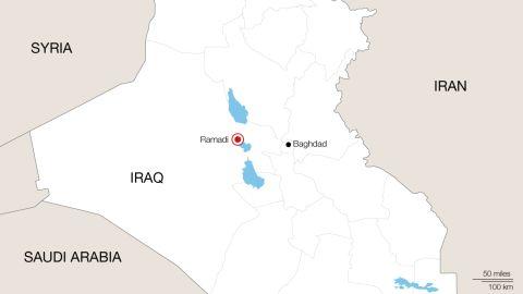 Map: Ramadi