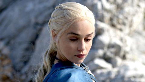 Emilia Clarke in HBO's 'Game of Thrones.'