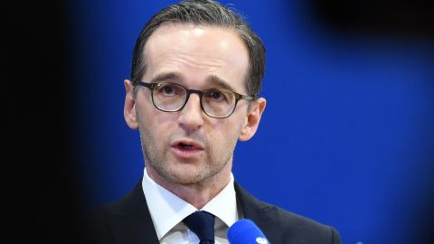 German Justice Minister Heiko Maas addresses the assaults inCologne.