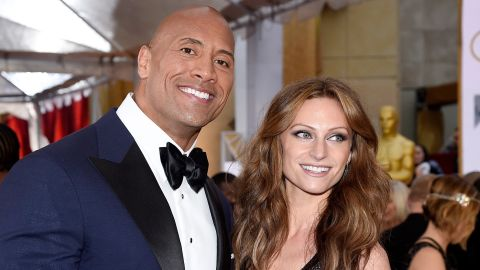 """Johnson's girlfriend, Lauren Hashian, gave birth to their daughter, Jasmine, in December. The proud papa advised on social media, """"To all you young men out there who will be fathers one day, the goal of 'being better' will never steer you wrong."""""""