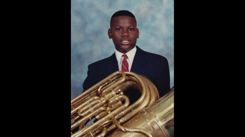 Baldwin describes Jones as a Renaissance man. He played in the band, sang in the choral ensemble and excelled in basketball and football. She says his academic interests were equally as broad.