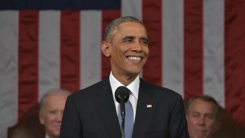U.S. President Barack Obama delivers the State of the Union address on January 20, 2015 in the House Chamber of the U.S. Capitol in Washington, D.C.
