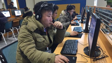 Visitors to North Korea's Science and Technology Center use the tightly regulated North Korean intranet.