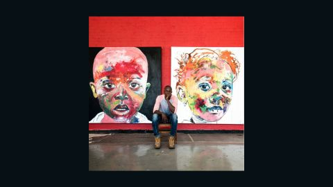 """Pon has friends in artistic places, including <a href=""""https://www.instagram.com/nelsonmakamo/?hl=en"""" target=""""_blank"""" target=""""_blank"""">Nelson Makamo</a> who he describes as; """"One of the most humble and amazing South African artists I've ever met. He has a heart of a gold and a deep insight into life, and with that comes many inspiring moments and great conversations."""""""