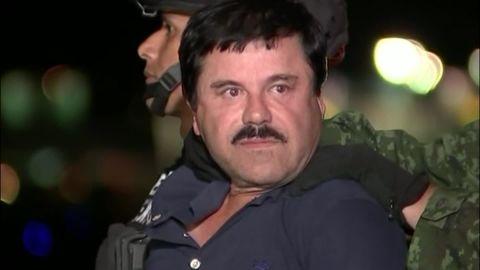 Joaquin El Chapo Guzman perp walk helicopter _00002606.jpg