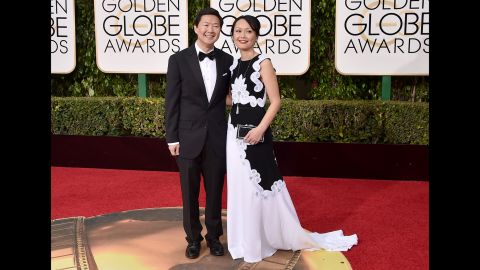 Ken Jeong and his wife, Tran