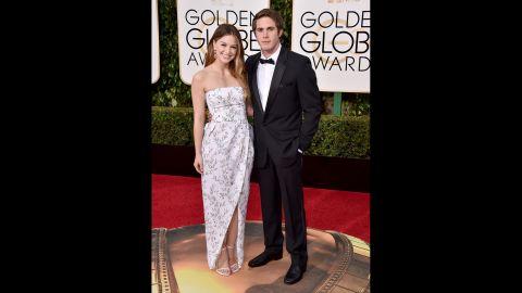 Melissa Benoist and her husband, Blake Jenner
