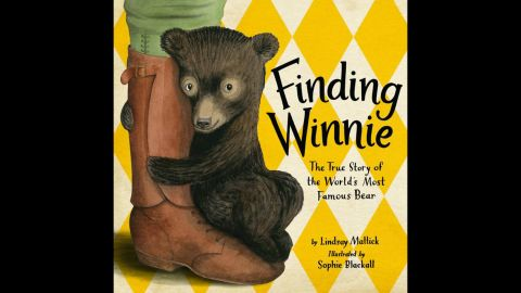 """<strong>The Randolph Caldecott Medal</strong> for the most distinguished American picture book for children: """"Finding Winnie: The True Story of the World's Most Famous Bear,"""" illustrated by Sophie Blackall and written by Lindsay Mattick."""