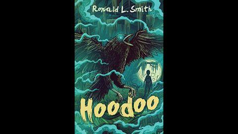 "<strong>Coretta Scott King - John Steptoe New Talent Author Award: </strong>""Hoodoo,"" written by Ronald L. Smith.<br />"