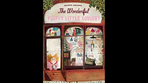 """<strong>Mildred L. Batchelder Award</strong> for an outstanding children's book translated from a foreign language and subsequently published in the United States: """"The Wonderful Fluffy Little Squishy,"""" which was originally published in French in 2014 as """"Le merveilleux Dodu-Velu-Petit."""" It was written and illustrated by Beatrice Alemagna and translated by Claudia Zoe Bedrick."""