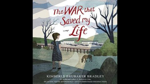"""<strong>Odyssey Award</strong> for best audiobook produced for children and/or young adults, available in English in the United States: """"The War that Saved My Life,"""" written by Kimberly Brubaker Bradley, narrated by Jayne Entwistle and produced by Listening Library."""