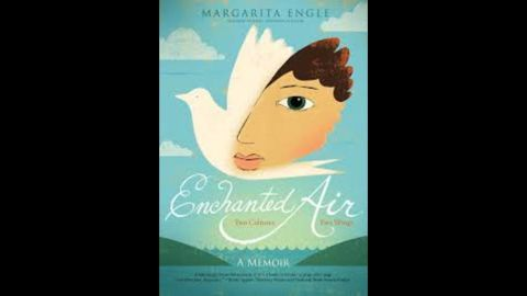 """<strong>Pura Belpré (Author) Award: </strong>""""Enchanted Air: Two Cultures, Two Wings: A Memoir,"""" written by Margarita Engle."""