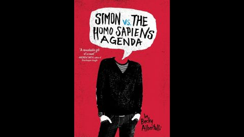 """<strong>William C. Morris Award </strong>for a debut book published by a first-time author writing for teens: """"Simon vs. the Homo Sapiens Agenda,"""" written by Becky Albertalli.<br />"""