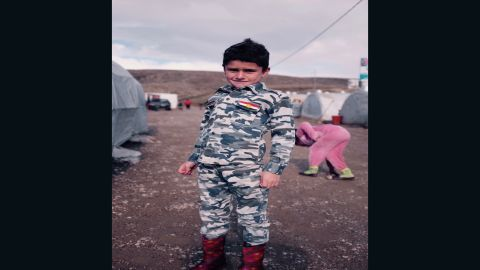 The Esyan refugee camp in Kurdistan is home to almost 15,000 Yazidis fleeing ISIS.