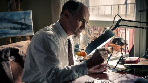 """<strong>Best supporting actor: </strong>Mark Rylance, pictured (""""Bridge of Spies""""), Sylvester Stallone (""""Creed""""), Mark Ruffalo (""""Spotlight""""), Christian Bale (""""The Big Short"""") and Tom Hardy (""""The Revenant"""")."""