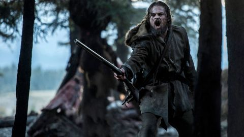 DF-02339R -- Leonardo DiCaprio stars as legendary explorer Hugh Glass.