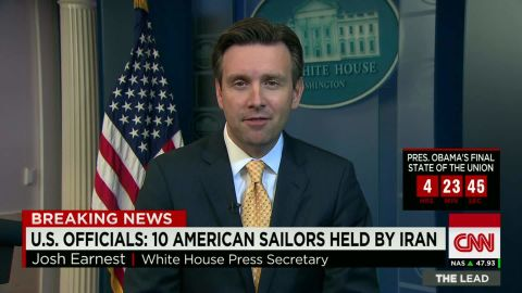 obama white house press secretary earnest on american sailors detained iran, sotu_00021803.jpg