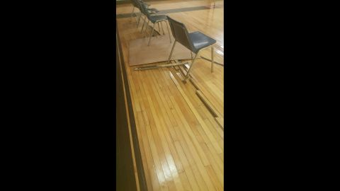 Teachers also claim that some extracurricular facilities, such as gyms, are unsafe because of neglect.