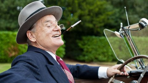 """Bill Murray plays Franklin D. Roosevelt in the 2012 film """"Hyde Park on Hudson."""" The dramedy focuses on FDR's relationship with Margaret Suckley, better known as Daisy (Laura Linney). British actress Olivia Williams plays Eleanor Roosevelt in the film, set in 1939."""