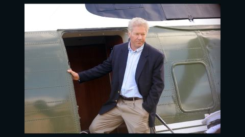 """Dennis Quaid plays Bill Clinton opposite Michael Sheen's Tony Blair in the 2010 TV movie """"The Special Relationship."""""""