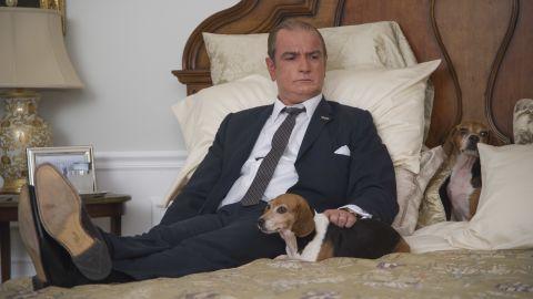 """Liev Schreiber plays Lyndon B. Johnson in """"The Butler."""""""