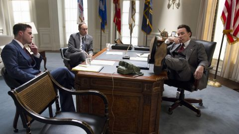 """John Cusack, right, took on the role of Richard Nixon in """"The Butler."""""""