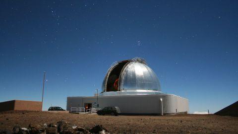 NASA's Infrared Telescope Facility on Maunakea on the Big Island of Hawaii.