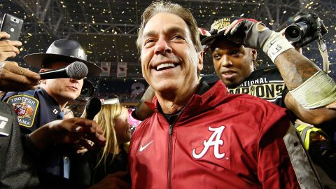 Nick Saban could buy your entire life.