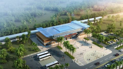 The SGR project also includes the construction of state-of-the-art new passenger stations at Nairobi, Voi, and Mombasa.