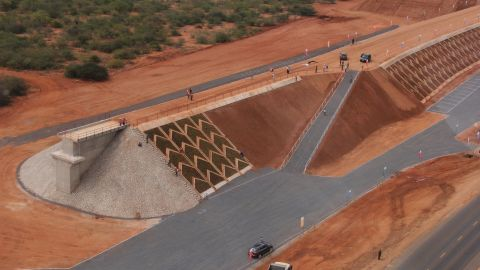 """The Standard Gauge Railway (SGR) has been described as the most ambitious project in Kenya's independent history -- replacing the antiquated tracks left by the British regime.<br /><br />Around <a href=""""http://news.xinhuanet.com/english/africa/2015-02/04/c_133970653.htm"""" target=""""_blank"""" target=""""_blank"""">$4 billion</a> has been invested in 600 kilometers of raised track connecting the hub cities of Nairobi and Mombasa, but it is hoped the line will be a net contributor to the economy for years to come. The SGR should be open for business in 2017."""