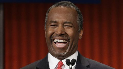 """Carson promised this week he would """"insinuate"""" himself into the conversation when needed. After a discussion between Rubio and Christie during the debate, Carson told moderator Neil Cavuto, """"Neil I was mentioned too."""" Cavuto asked, """"You were?"""" Carson quipped, """"Yeah, he said everybody."""" On a more serious note, Carson noted the """"divisiveness and the hatred"""" in today's society. """"We have a war on virtually everything -- race wars, gender wars, income wars, religious wars, age wars. Every war you can imagine, we have people at each other's throat,"""" he said. """"And our strength is actually in our unity."""""""