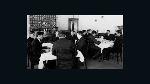 """In the early 1900s, a <a href=""""http://toxsci.oxfordjournals.org/content/67/2/157.full"""" target=""""_blank"""" target=""""_blank"""">group of civil servants</a> was given free room and board if the men would eat food heavily laced with widely used chemical preservatives, including borax and saccharin. <br /><br />They were required to weigh in and take their vital signs before each meal and report any physical reactions. They also had to supply their urine and feces for analysis."""