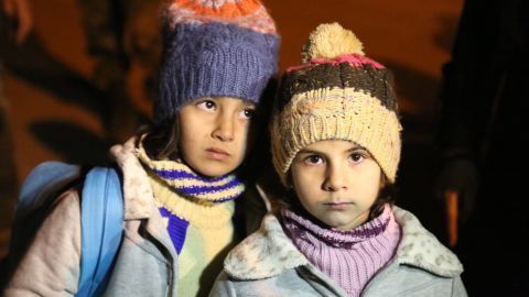 UNICEF, as part of a UN, ICRC and Syrian Arab Red Crescent convoy to Madaya, Rural Damascus, delivered therapeutic and other nutrition supplies that included multiple micronutrients, high energy biscuits, therapeutic food and medication for the treatment of severe and acute malnutrition.