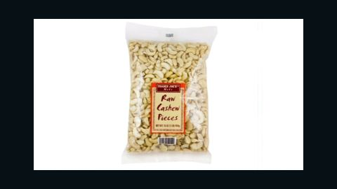 """Popular grocery story chain Trader Joe's <a href=""""http://www.cnn.com/2016/01/19/health/trader-joes-cashews-recall/"""" target=""""_blank"""">recalled a specific lot of raw cashew pieces</a> over possible salmonella contamination. The nuts were sold in 30 states as well as Washington, D.C. On January 15, the company said it had removed all lots of cashew pieces from store shelves pending an investigation."""