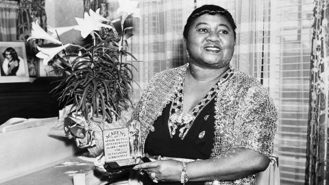 """Hattie McDaniel was the first African-American to win an Academy Award, snagging a best supporting actress Oscar in 1940 for her role as Mammy in """"Gone With The Wind."""""""