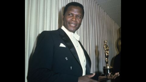 """In 1964, Sidney Poitier won best actor for """"Lilies of the Field."""""""